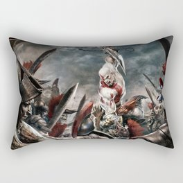Ghost of Sparta Rectangular Pillow