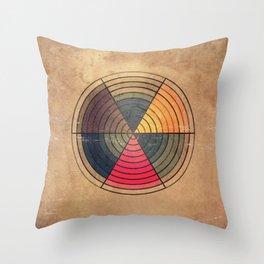 Circles C6 Throw Pillow
