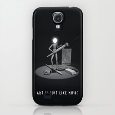 art is just like music Slim Case Galaxy S4