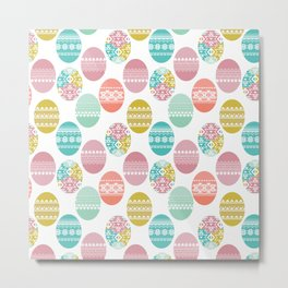 easter white background Metal Print