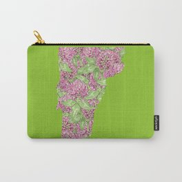 Vermont in Flowers Carry-All Pouch