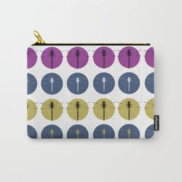 Pop-art Style Dragonflies Carry-All Pouch