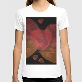 Fall Leaves Mosaic T-shirt