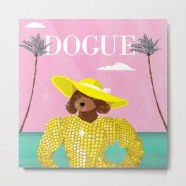 Dogue - Beverly Hills Metal Print