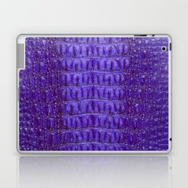 Deep Purple Crocodile Laptop & iPad Skin