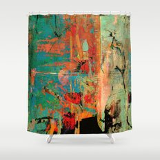 Trojan Horse Shower Curtain