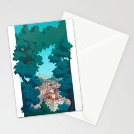 Vigo desde el Castro Stationery Cards