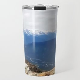 Many layers of a mountain view Travel Mug