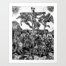 Hemmorrhage Art Print