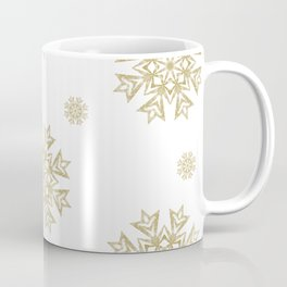 Gold Medallion Design Coffee Mug