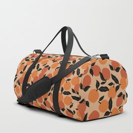 Seamless Citrus Pattern / Oranges Duffle Bag