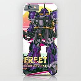 Efreed Gundam Retro iPhone Case
