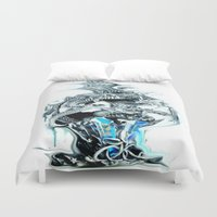 dragons Duvet Covers featuring dragons by Moonlight Creations