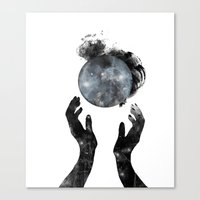howl Canvas Prints featuring Howl by M. Vander