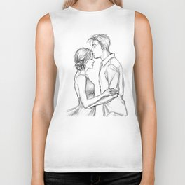 valentine kiss #7 Biker Tank