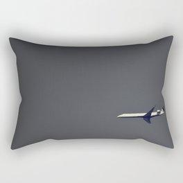 Lonely Flight Rectangular Pillow