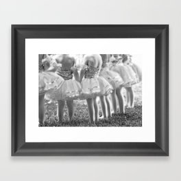Little Ballerina, Photograph, Black And White, Ballet Decor, Ballet Photography, Ballerina Art,  Framed Art Print