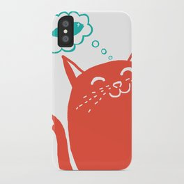 Me Want Fish iPhone Case