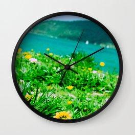 Summer Daydream Wall Clock