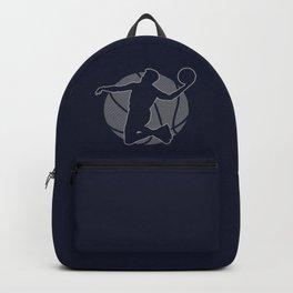 Basketball Player II (monochrome) Backpack