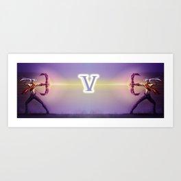 V for VARUS Art Print