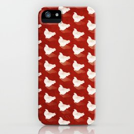 Chickens 03 iPhone Case