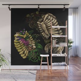 Dual Roots Wall Mural