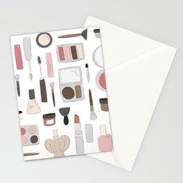Let's Makeup Stationery Cards