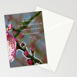 Poem from Rumi Stationery Cards