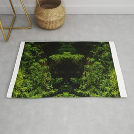 Watching Camouflage Rug