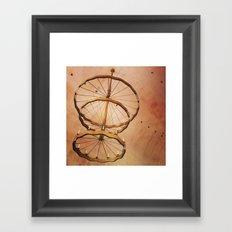 The Spiral Bot Framed Art Print