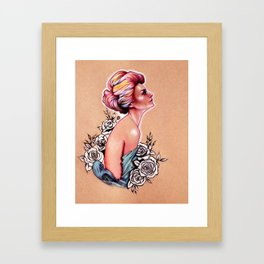 The Oracle from Delphi Framed Art Print