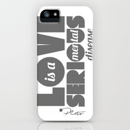 Love - By Plato iPhone Case