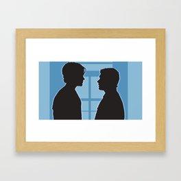 Pilot Supernatural (Silhouette Collection) Framed Art Print