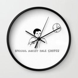 Dale Cooper Wall Clock
