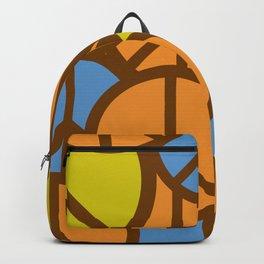 Cool Colorful Groovy Peace Symbols #society6 #decor #buyart #artprint Backpack