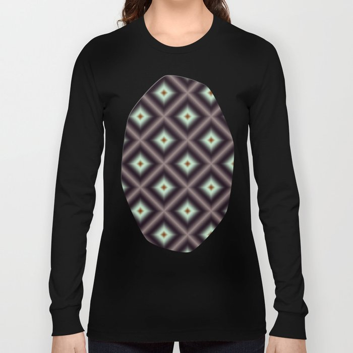 Starry Tiles in atBMAP 00 Long Sleeve T-shirt