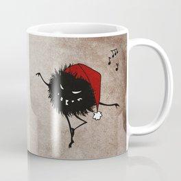 Dark Evil Christmas Bug Coffee Mug