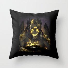 Warrior-Jack Throw Pillow