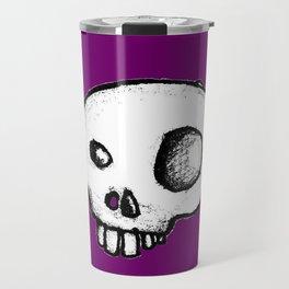 Purple King of Skulls Travel Mug