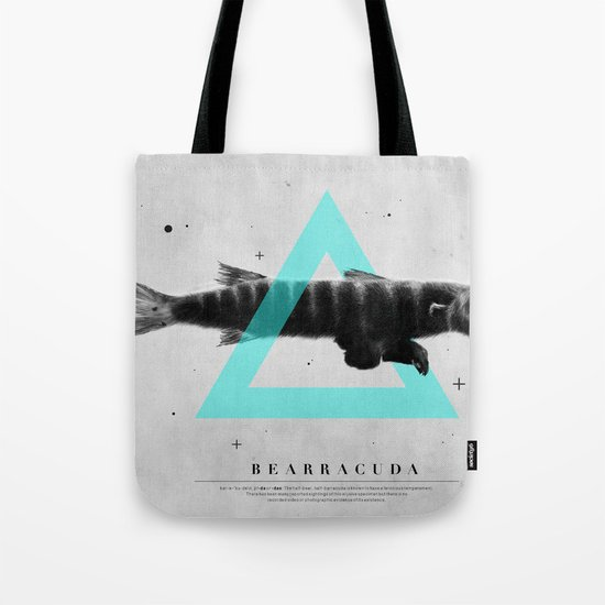 Bearracuda Tote Bag