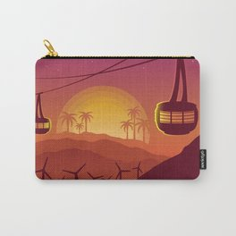 Palm Springs Valley - Sunset Horizontal Version Carry-All Pouch