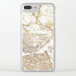 Marbled Clear iPhone Case