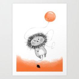 Wroar! Art Print