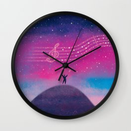 Maestro of Stars Wall Clock