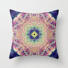 Cosmos Blossom Throw Pillow