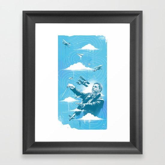 Ciel Symphonie Framed Art Print