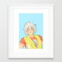 johannathemad Framed Art Prints featuring kurage by JohannaTheMad