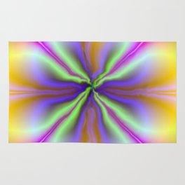Psychedelic Twirl Rug