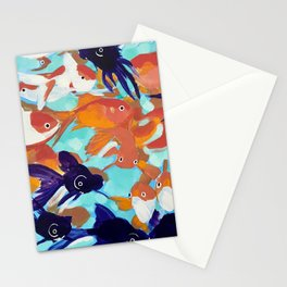 Just Keep Swimming Stationery Cards